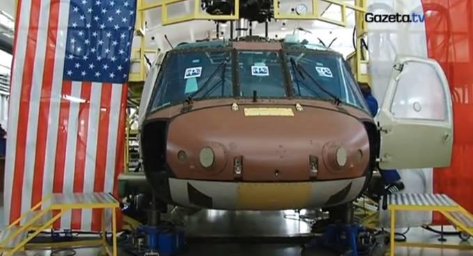 Pierwsza uroczystość w Mielcu. Gotowa kabina Black Hawk. 2009r.