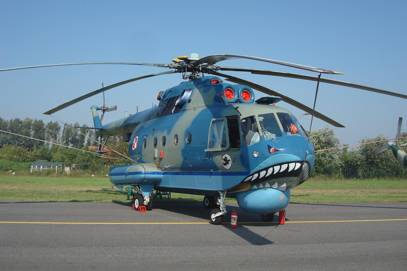 Mi-14 PŁ nb 1005. 2011 rok. Zdjęcie Karol Placha Hetman