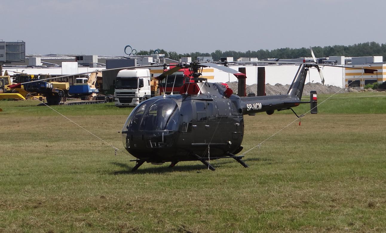 Bolkow Bo-105. 2019. Photo by Karol Placha Hetman