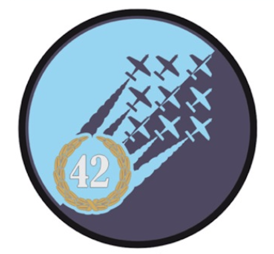 The badge the 42 Base