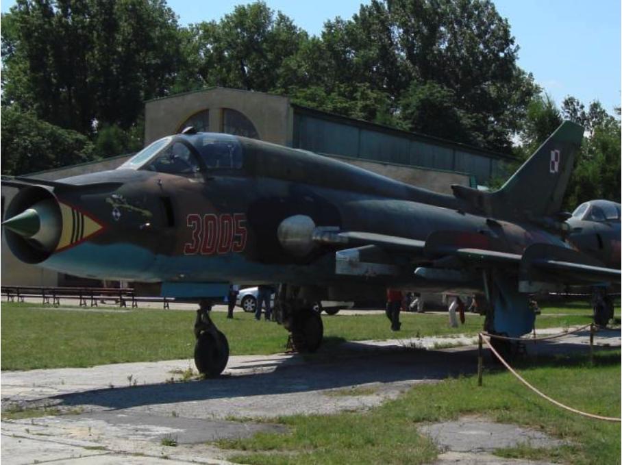 Su-22 M 4 K nb 3005 muzeum Czyżyny 2007 rok. Zdjęcie Karol Placha Hetman