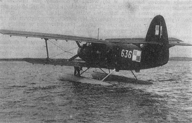 An-2 W nb 636 nr 1G3636. 1964r. Wicko Morskie. Zdjęcie LAC