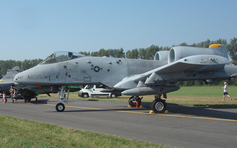 Fairchild A-10 nb 647. 2011 rok. Zdjęcie Karol Placha Hetman