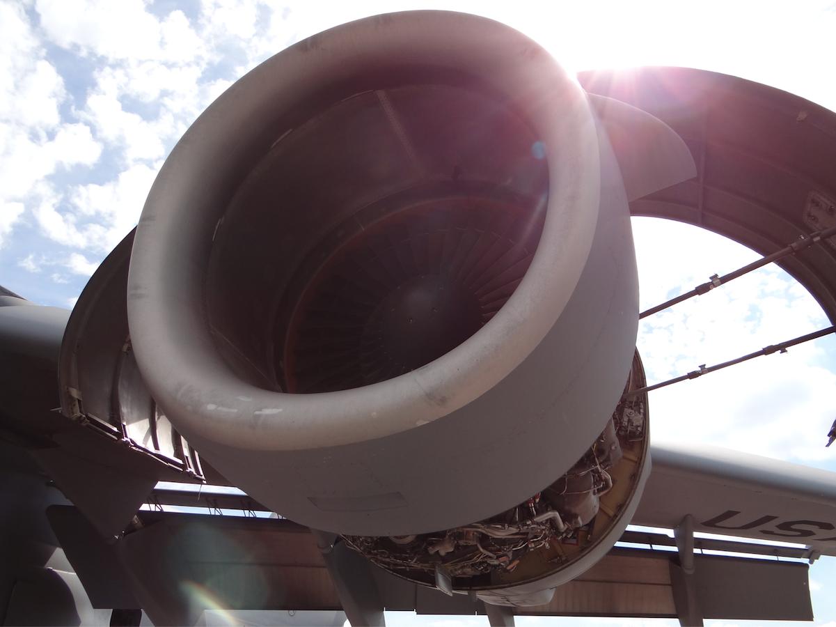 Pratt&Whitney F 117-PW-100. 2014 rok. Zdjęcie Karol Placha Hetman