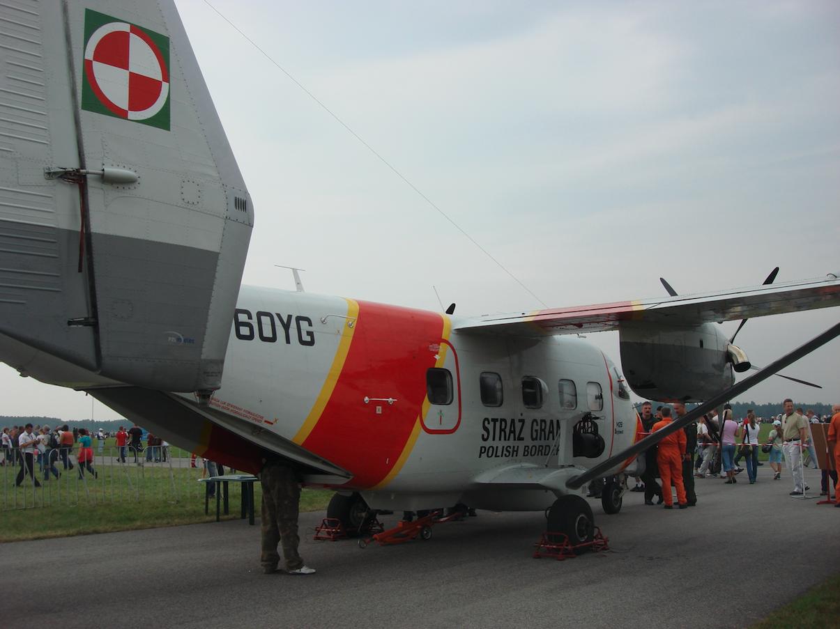 PZL M-28 nb SN-60YG Straży Granicznej Polska. 2009 rok. Zdjęcie Karol Placha Hetman