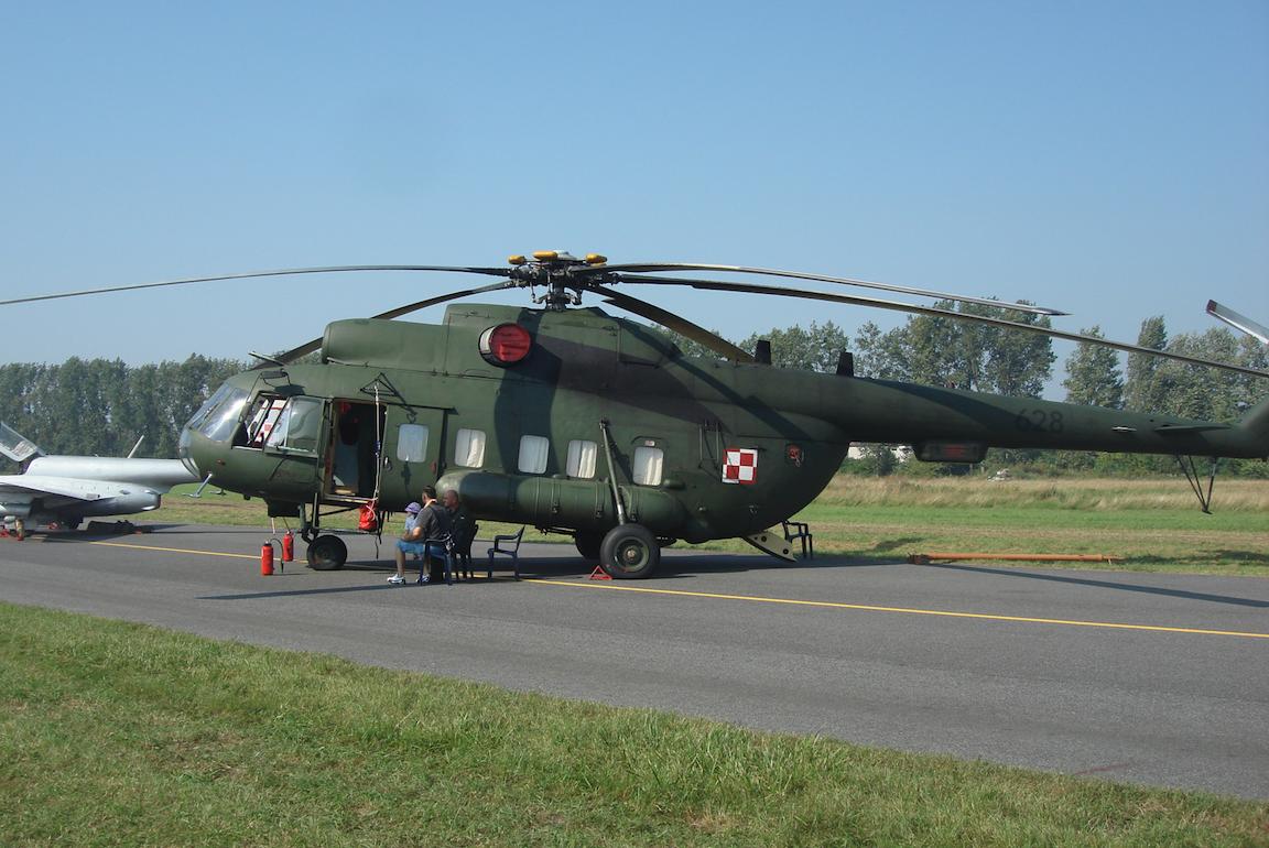 Mi-8 RL nb 628. 2011 rok. Zdjęcie Karol Placha Hetman