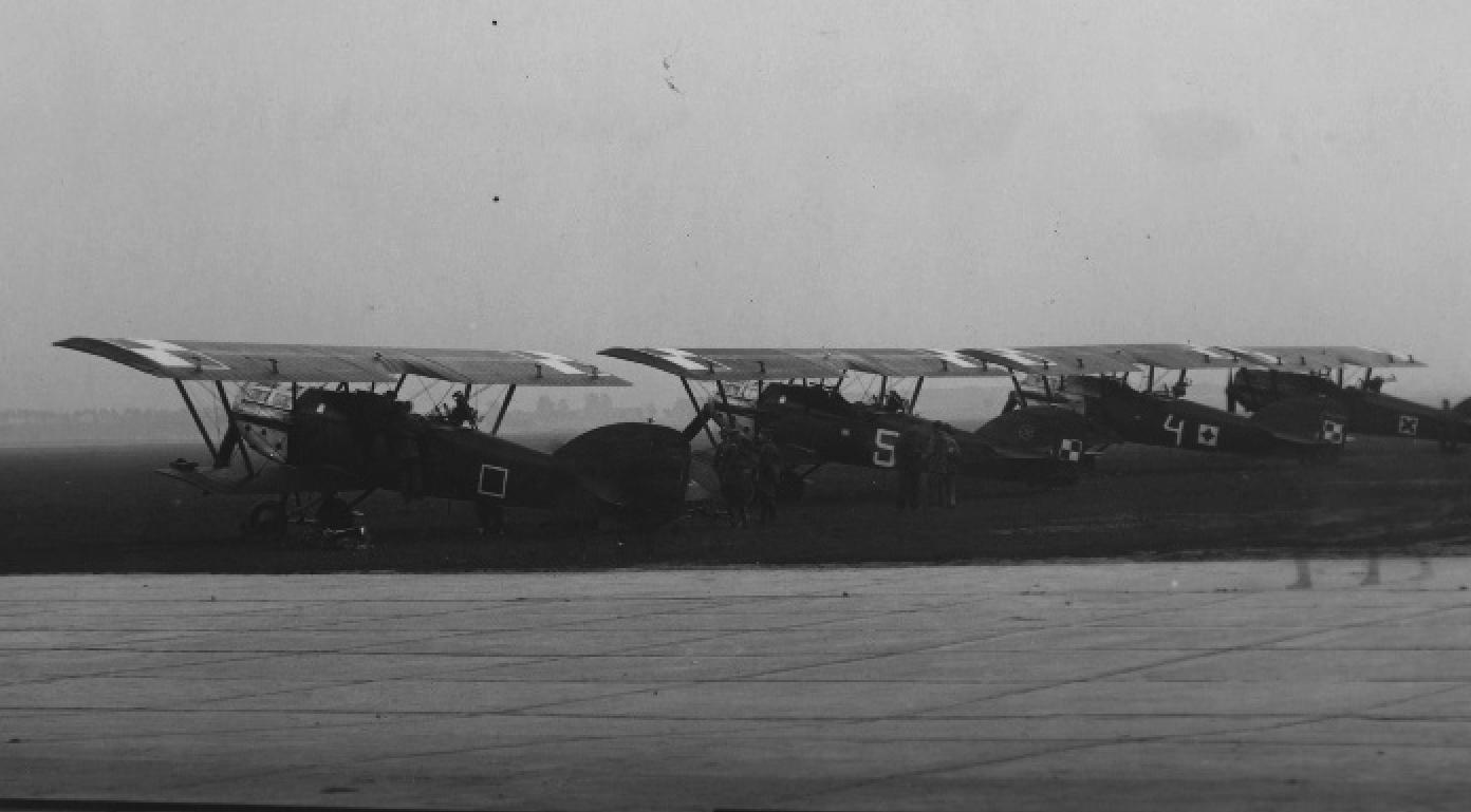 Potez XXV at the airport in Krakow, Rakowice-Czyżyny. Photo of LAC