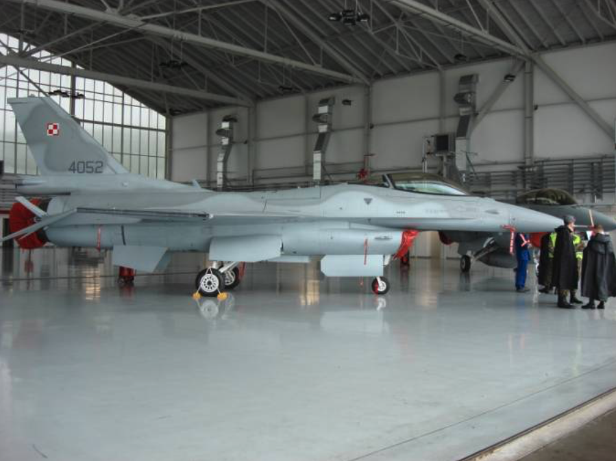 Jastrząb F-16 C nb 4052 Krzesiny 26.06.2007 rok. Zdjęcie Karol Placha Hetman