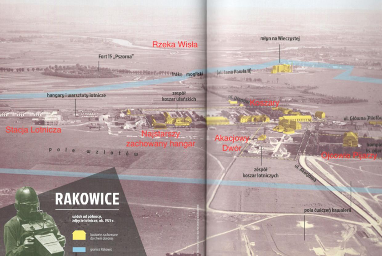 Rakowice airport around 1924. Photo by Karol Placha Hetman - Historical Museum