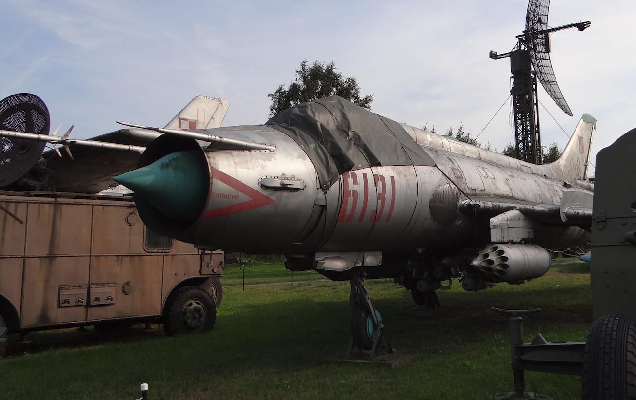Su-20 nb 6131. Warszawa 2012 rok. Zdjęcie Karol Placha Hetman