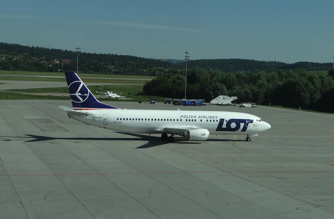 Boeing B-737 SP-LLF. 2012 year. Photo by Karol Placha Hetman