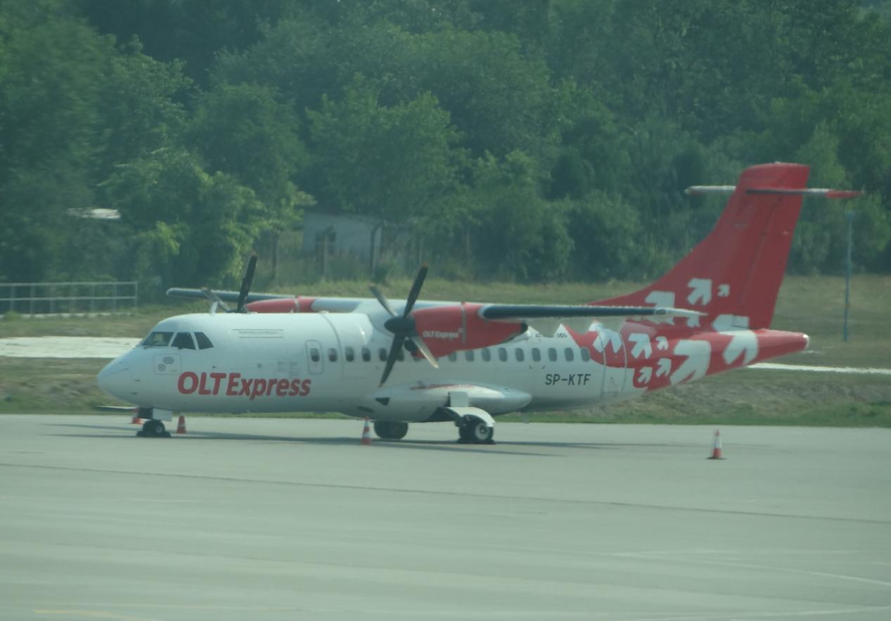 ATR 42-300, SP-KTF. 2012 year. Photo by Karol Placha Hetman