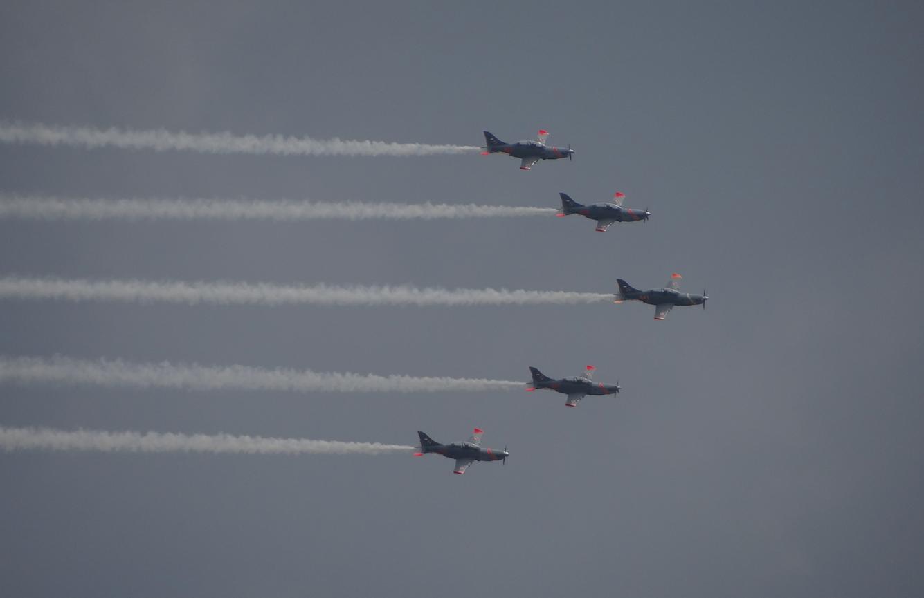 PZL-130 Orlik. 2021 rok. Zdjęcie Karol Placha Hetman