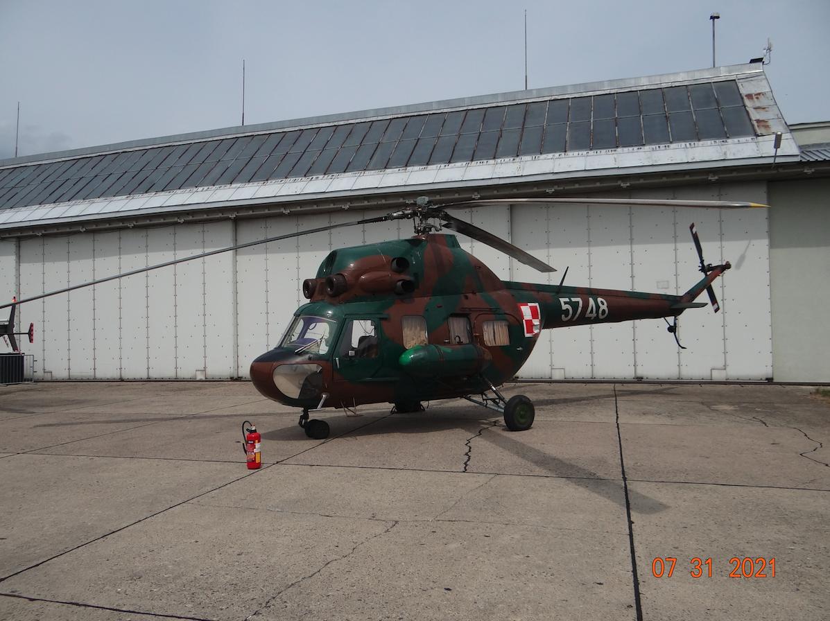 Mi-2 nb 5748. 2021 rok. Zdjęcie Karol Placha Hetman