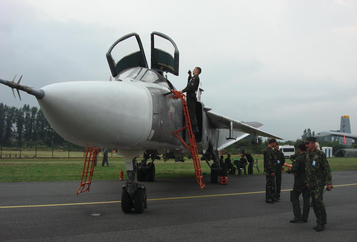 Su-24 nb 42 lotnictwa Białorusi. 2009 rok. Zdjęcie Karol Placha Hetman