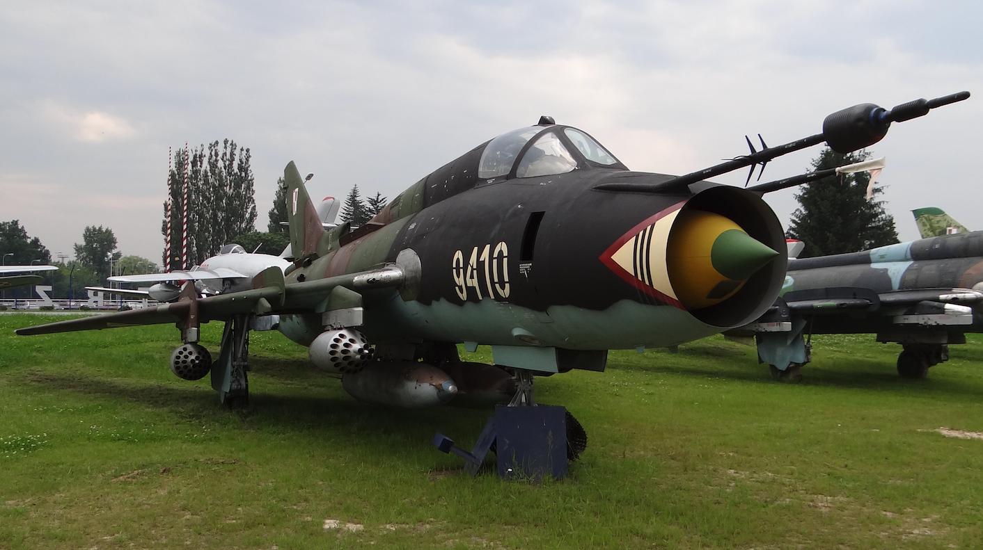 Su-22 M 4 K nb 9410 muzeum Dęblin 2012 rok. Zdjęcie Karol Placha Hetman
