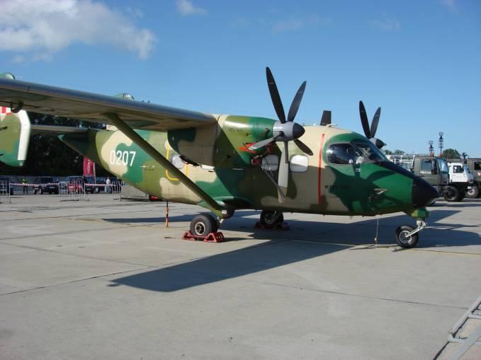 M-28 Bryza nb 0207 użytkowana w 14 ELTr. 2008r.