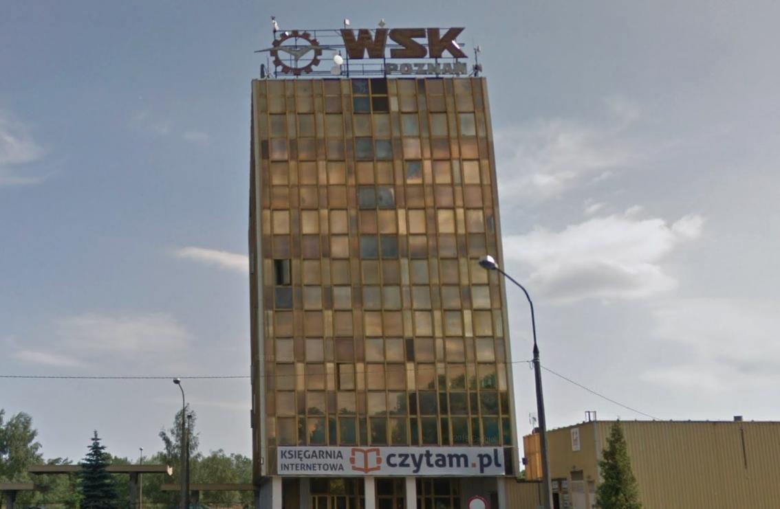 WSK PZL Poznań, ul Unii Lubelskiej. 2014 year. Photo of LAC