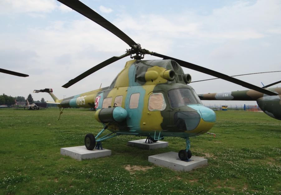 Mi-2 nb 085. 2012 rok. Zdjęcie Karol Placha Hetman