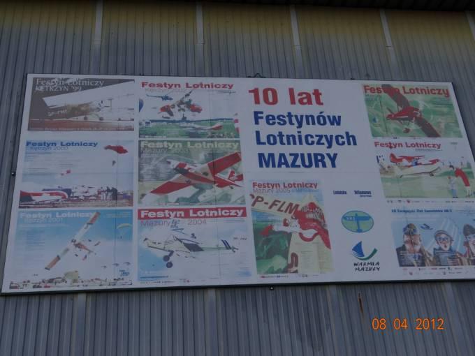 10 lat Festynów Lotniczych Mazury. Lotnisko Wilamowo 2012r.