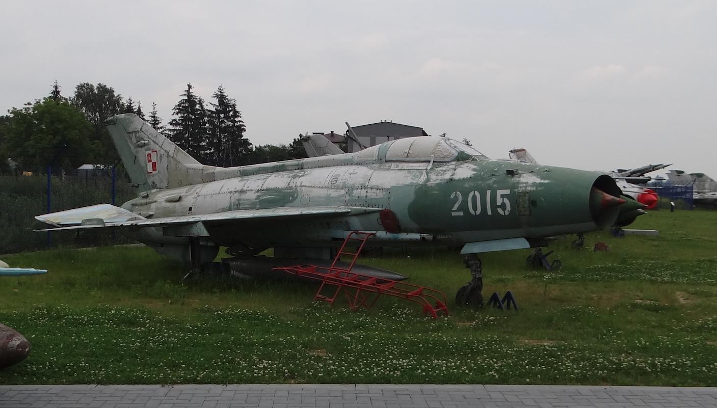 MiG-21 F-13 nb 2015. Dęblin 2017 rok. Zdjęcie Karol Placha Hetman