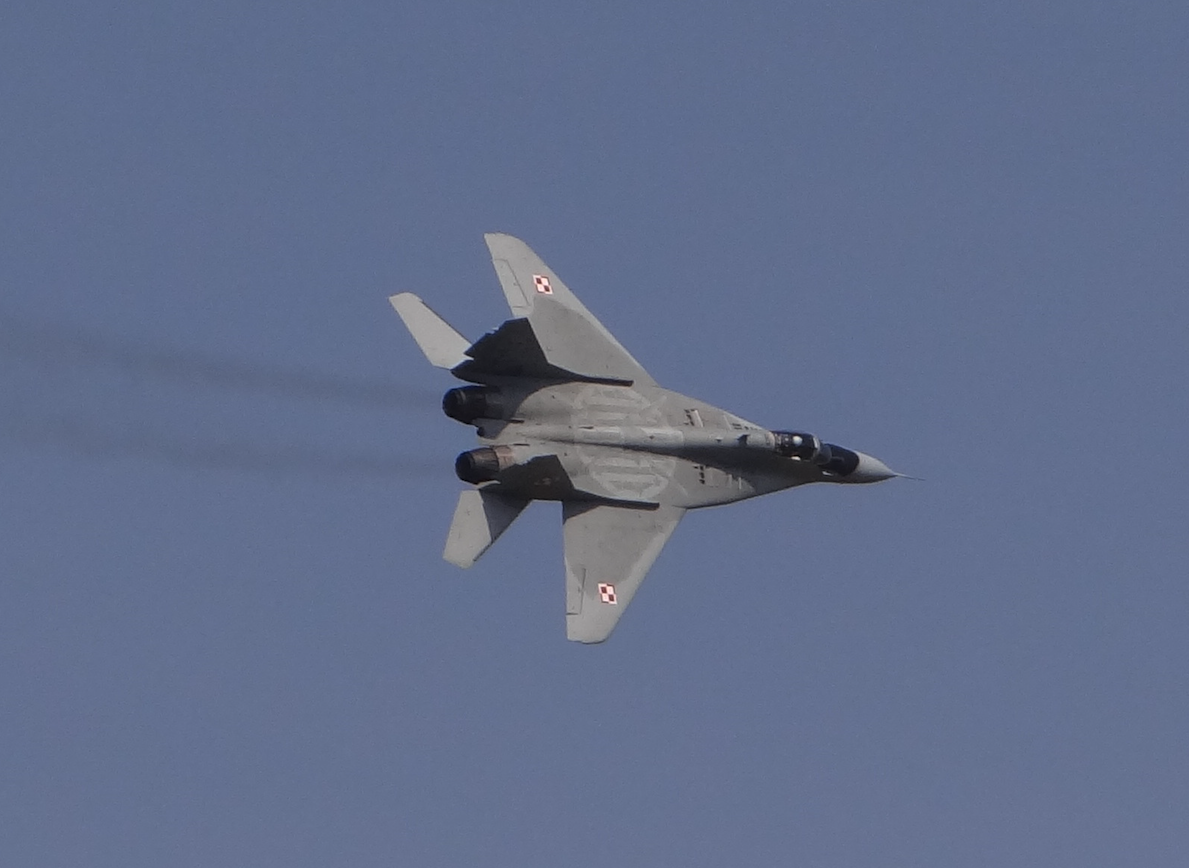 MiG-29. 2017 rok. Zdjęcie Karol Placha Hetman