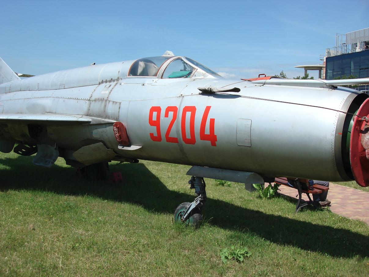 MiG-21 bis nb 9204. Czyżyny 2007. Photo by Karol Placha Hetman