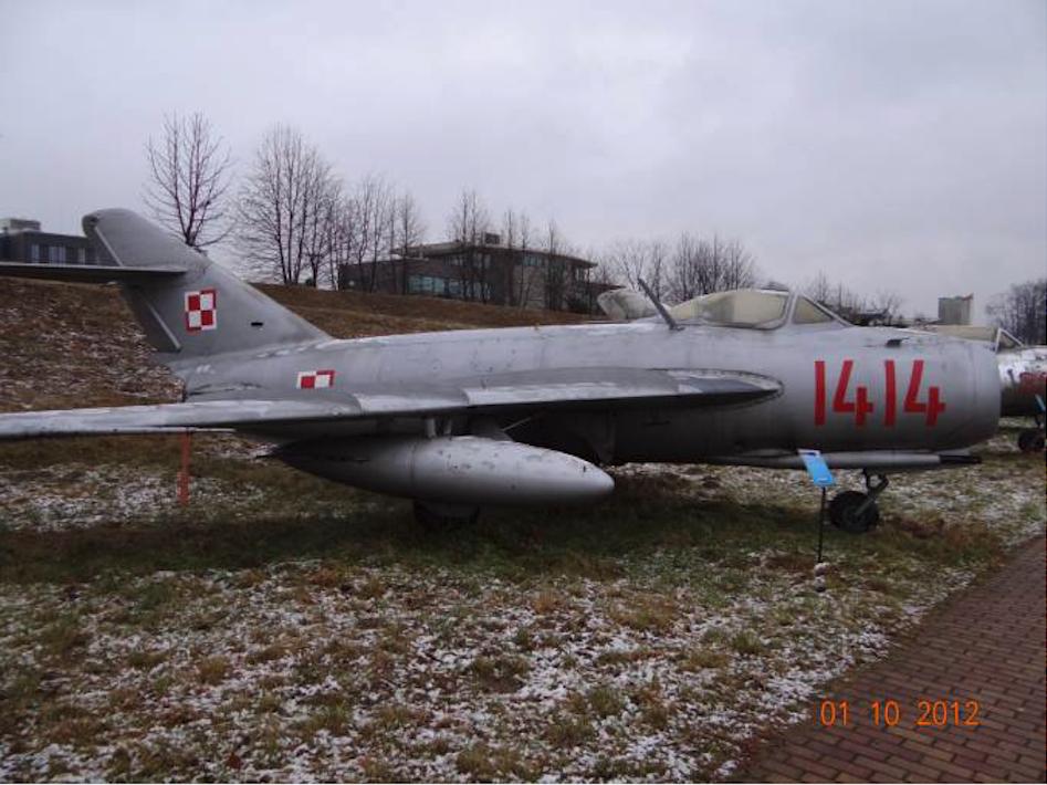 Lim-5 nb 1414 Muzeum Lotnictwa Polskiego. 2012 rok. Zdjęcie Karol Placha Hetman