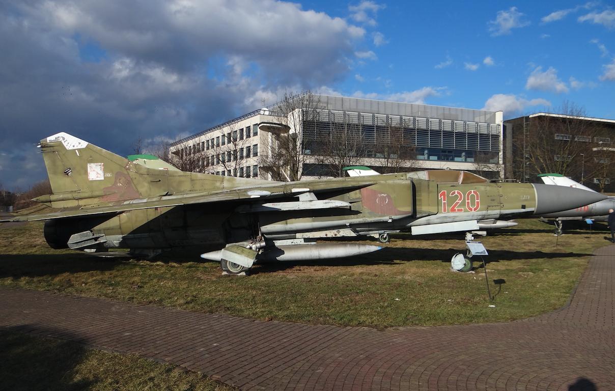 MiG-23 MF nb 139. 2020 year. Photo by Karol Placha Hetman