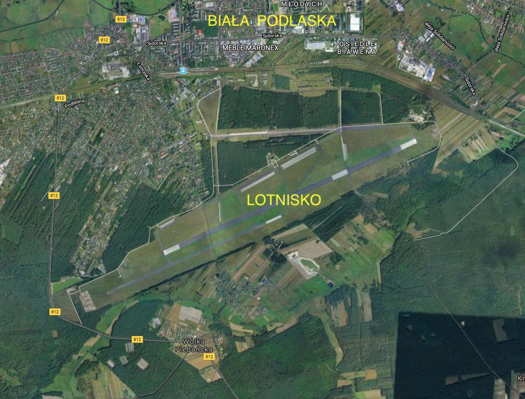 Biała Podlaska airport. 2020 year. Photo of LAC