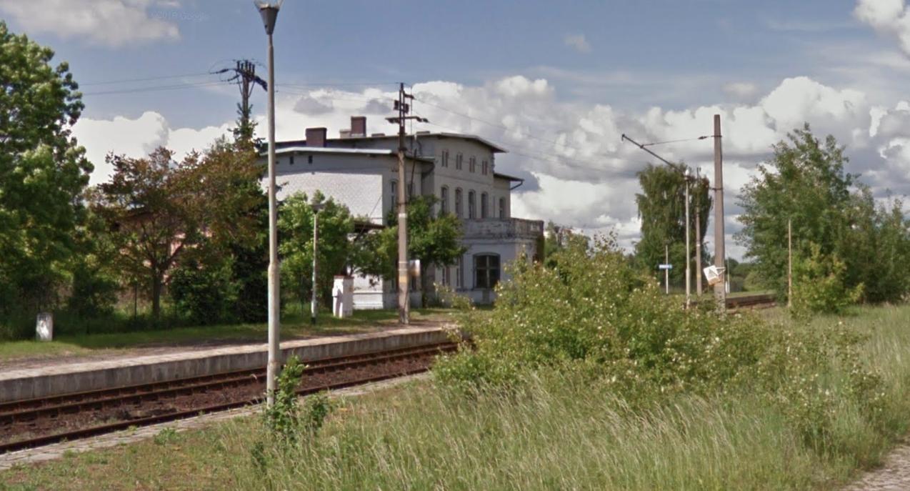 Stacja kolejowa Nowa Wieś Legnicka. 2015 rok. Zdjęcie Karol Placha Hetman