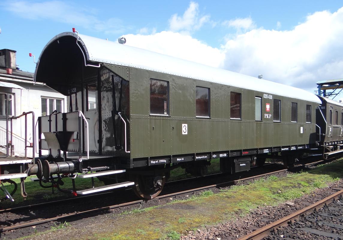 Wagon Ci nr 026458, klasa 2/3. Chabówka 2021 rok. Zdjęcie Karol Placha Hetman