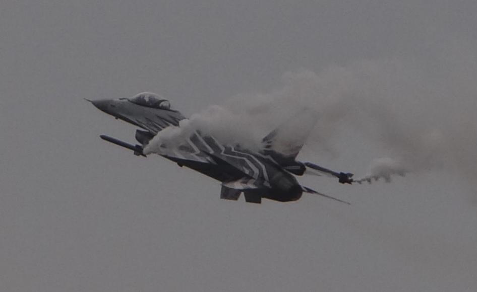 F-16 Belgijskich Sił Powietrznych. 2016 rok. Zdjęcie Karol Placha Hetman