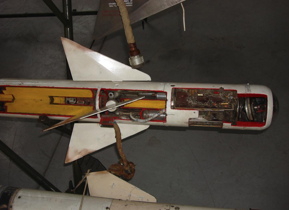 Pocisk rakietowy R-3S. 2007 rok. Zdjęcie Karol Placha Hetman