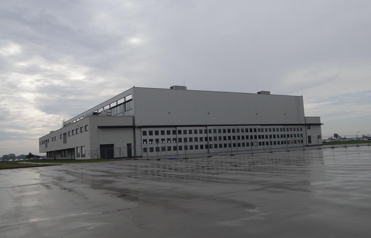New hangars. 2019. Photo by Karol Placha Hetman