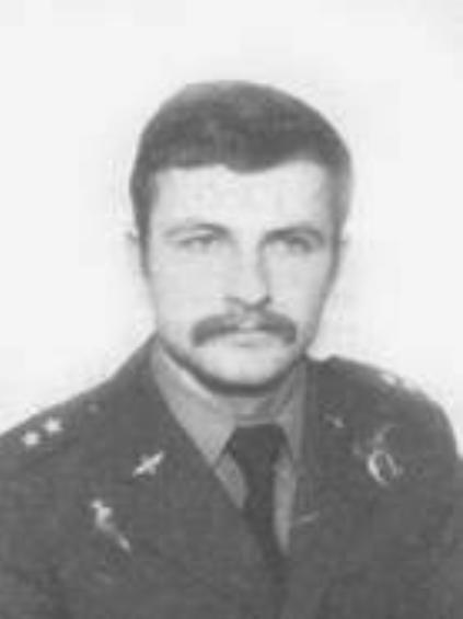 Pilot Major Jerzy Stramek