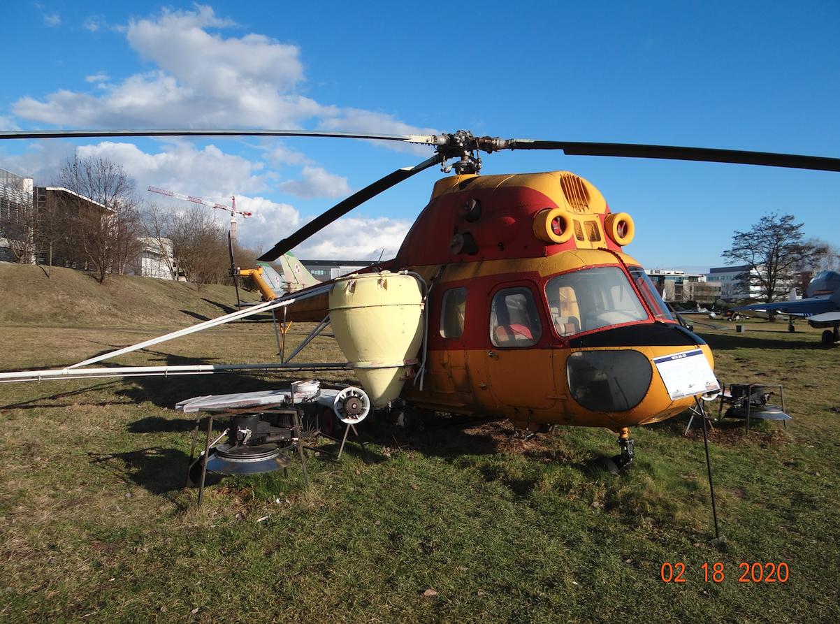 Mi-2 R z zamienną instalacją. 2020 rok. Zdjęcie Karol Placha Hetman