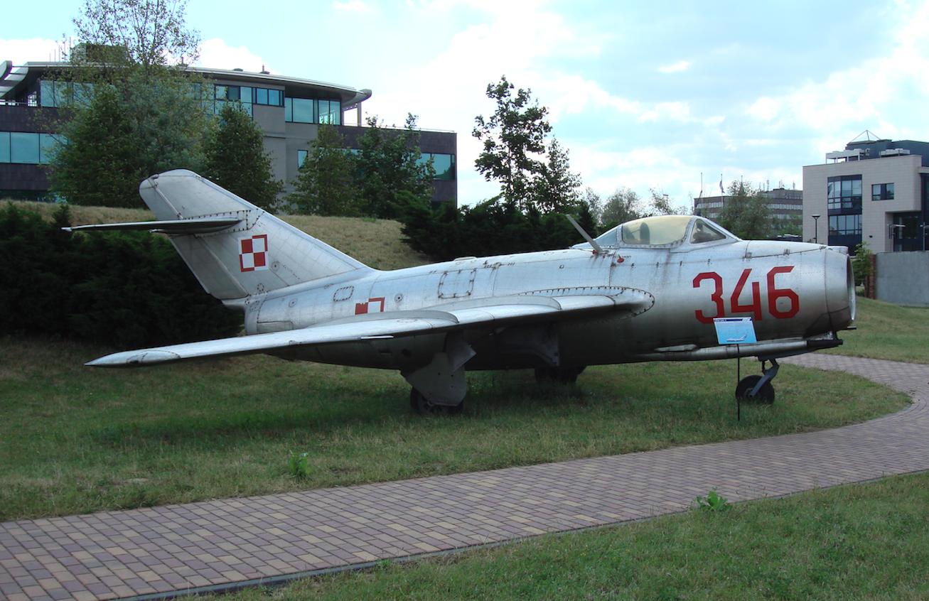 MiG-15 nb 346. 2007 year. Photo by Karol Placha Hetman