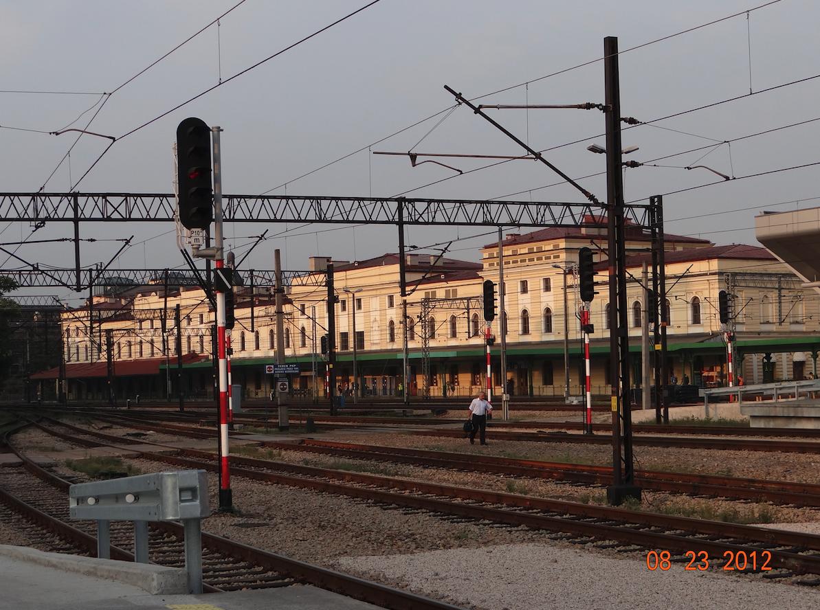 PKP Kraków Główny Railway station. 2012 year. Photo by Karol Placha Hetman