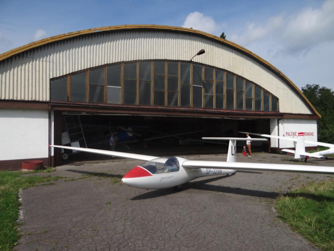 SZD-51 Junior glider. 2014 year. Photo by Karol Placha Hetman