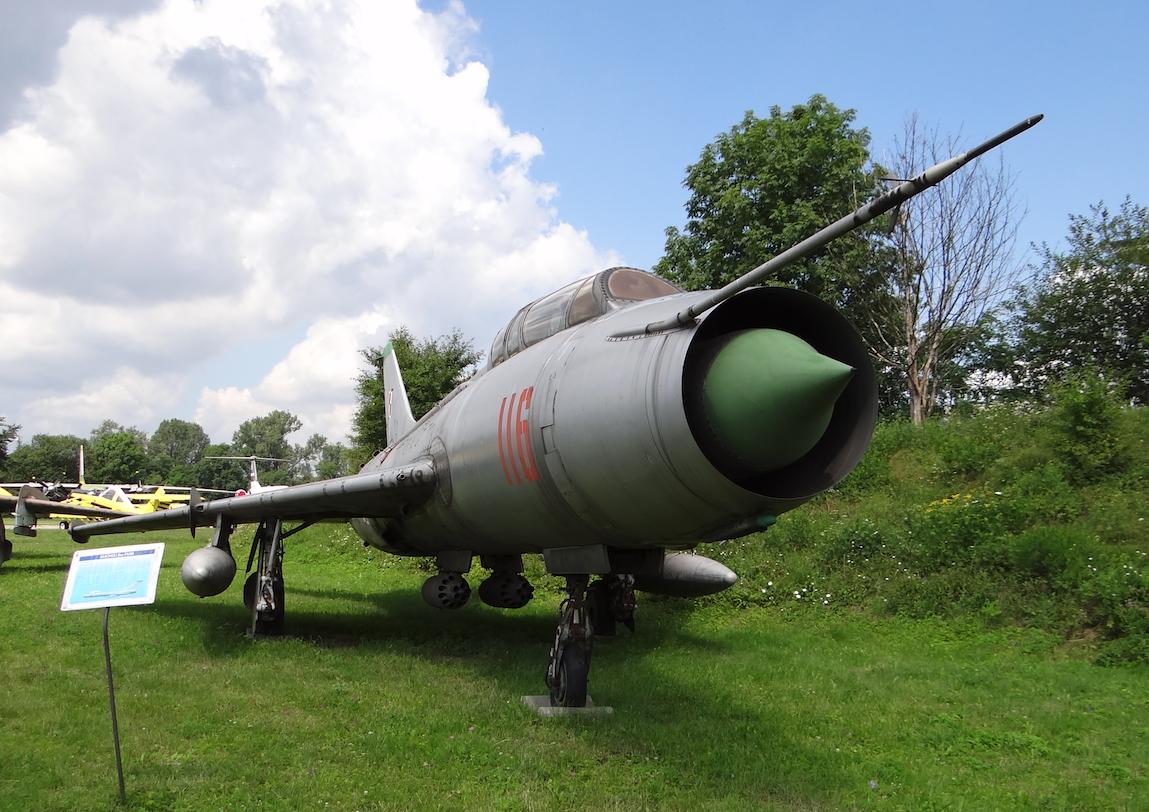 Suchoj Su-7 U nb 116 nr 2116. Czyżyny 2017 rok. Zdjęcie Karol Placha Hetman