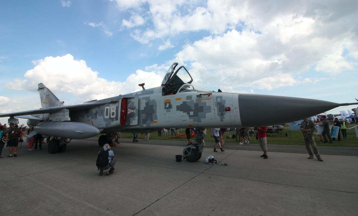 Suchoj Su-24. Babie Doły 2019 rok. Zdjęcie Waldemar Kiebzak
