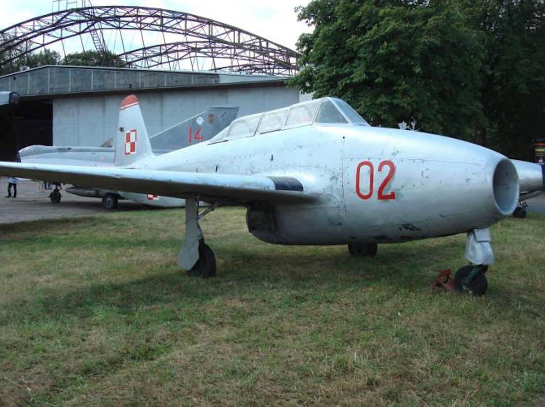 Jak-17 W nb 02. 2007 rok. Zdjęcie Karol Placha Hetman