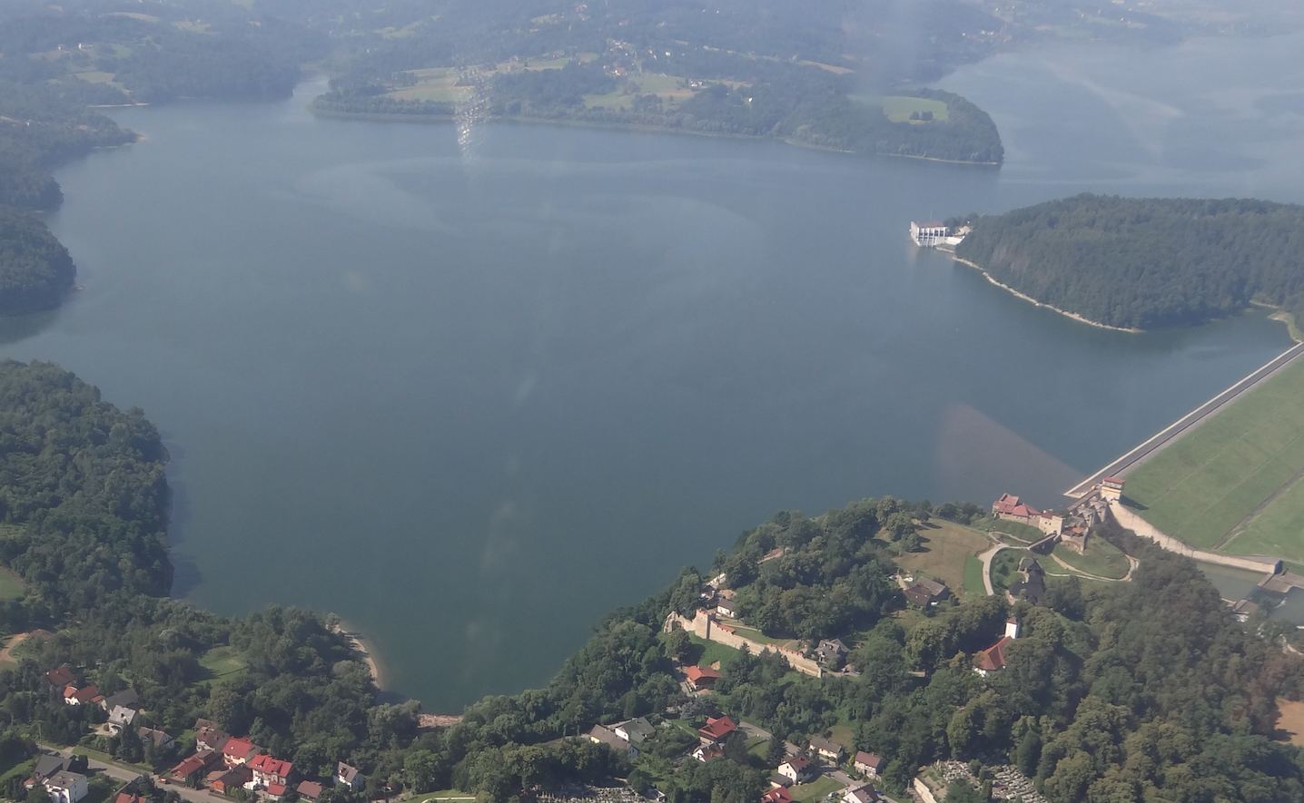The Lagoon in Dobczyce. 2020 year. Photo by Karol Placha Hetman