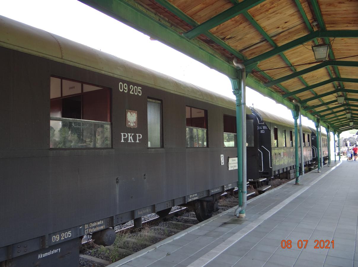 Wakacyjny pociąg Retro. Skansen Chabówka 2021 rok. Zdjęcie Karol Placha Hetman