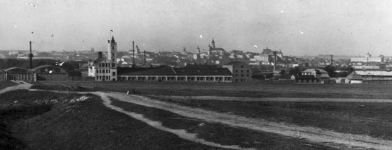 Zakłady Mechaniczne Emil Plage i Teofil Laśkiewicz w Lublinie. Około 1930 roku. Zdjęcie LAC