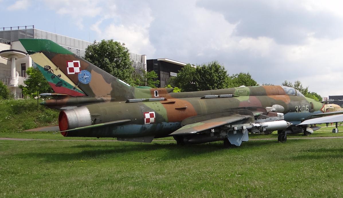 Su-22 M 4 K nb 3305 muzeum Czyżyny 2017 rok. Zdjęcie Karol Placha Hetman