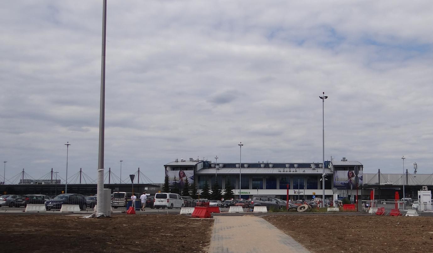 The airport Katowice Pyrzowice. 2019. Photo by Karol Placha Hetman
