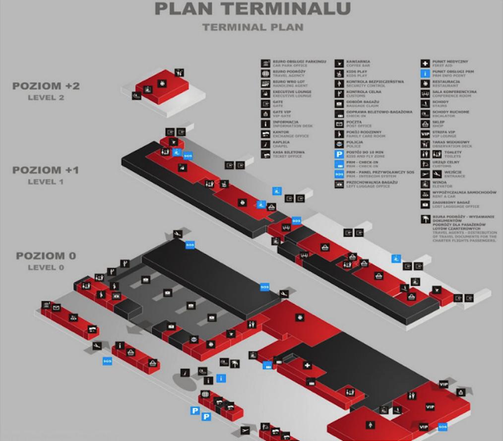 Terminal plan. 2014 year. Photo by Karol Placha Hetman