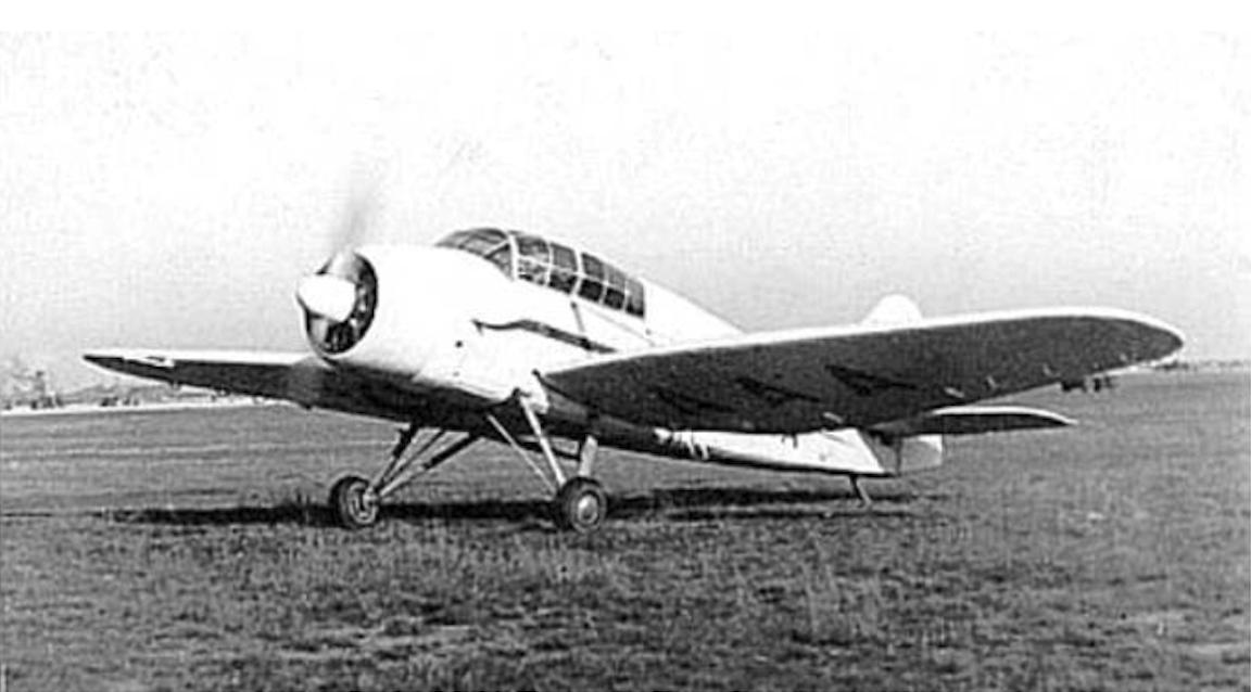 LWD Szpak-2 rejestracja SP-AAA. Zdjęcie LAC